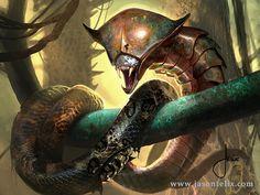 http://jason-felix.deviantart.com/art/Copper-Snake-Coil-Magic-The-Gathering-487094189