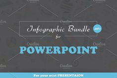 Infographic Bundle for Powerpoint by Infographic Paradise on @creativemarket