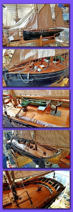 "Lowestoft Fishing Boat  "" Master Hand""after completion of restoration and now taking pride of place in the Museum collection"
