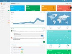 18 Free Bootstrap Admin Templates