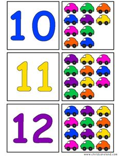 Jelly Bean Count and Clip Cards: Numbers Letter Worksheets For Preschool, Numbers Preschool, Math Numbers, Preschool Lessons, Preschool Learning, Kindergarten Activities, Learning Activities, Preschool Activities, Number Puzzles