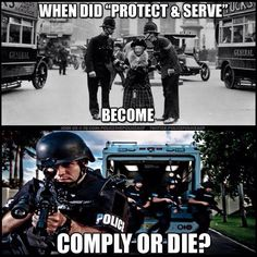 When Amerikkka decided to become a police state... - Nicky J