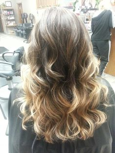 Highlighted ombre.