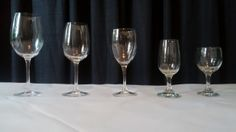 Wine Glass Comparison: 16 oz Wine Glass, 10.5 oz White Wine, Red Wine, 6 oz White Wine, Red Wine White Wine, Red Wine, Wine Glass, Third, Amber, Note, Tableware, Wedding, Valentines Day Weddings