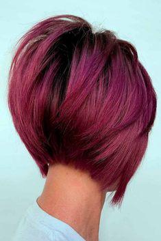 Red Blonde Hair, Short Red Hair, Girl Short Hair, Short Hair Cuts, Short Hair Styles, Short Hair Color Highlights, Hair Color And Cut, Violet Hair, Purple Hair