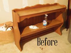 Upcycled China Hutch - This is definitely one of my favorite projects to date. This hutch turned out so great! I know a lot of people wouldn't have taken it bec…