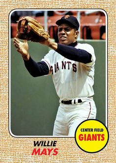 Baseball Wall, Baseball Cards, Mantle Styling, Willie Mays, Trump New, Mlb Players, Mickey Mantle, Football And Basketball, Sports Figures