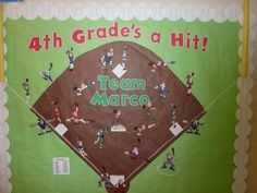 Welcome back to school with a baseball twist!