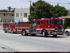 SeagravePumperLos Angeles Fire DepartmentEmergency Apparatus Fire Truck Photo