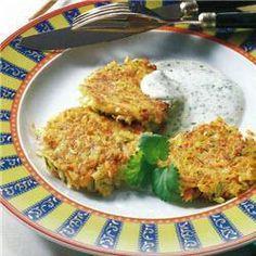 Paillassons de pommes de terre (platski) @ http://allrecipes.fr