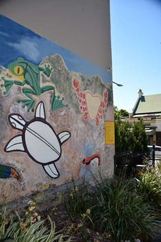 Just another lovely day at: Glebe. Where street art is welcome and encourages community spirit.
