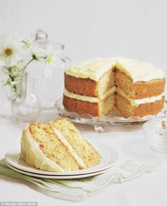 This combination may sound a little strange, but I have always put banana in my carrot cake to give a moist sponge