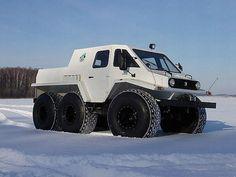 All terrain 6x6 Russian Trecol