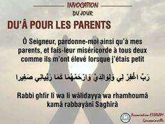 Pour les parents...ya Rab