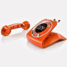 Toh Querendo: Telefone Digital DECT 6.0 sem Fio Retrô Fashion e Teclado Touchpanel - Sagemcom