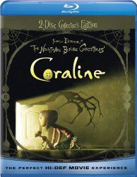 Coraline (Two-Disc Blu-ray/DVD Combo w/ Anaglyph 3D)