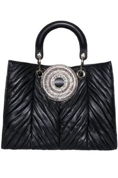 Magnetic closure Crystal buckle Handle Removable and adjustable shoulder strap Black leather. Buy Gedebe Bags Online now at Liberty Shoes Australia. Rene Caovilla, Shoe Boutique, Luxury Shoes, Online Bags, Giuseppe Zanotti, Shoulder Strap, Black Leather, Handle, Closure