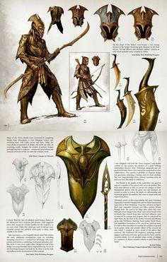 Armadura e armas de Thranduil
