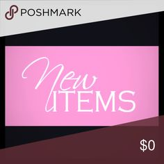 New items New items Other