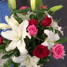 Gorgeous Floral Bouquet.. Spoiled girl loves her flowers from her man
