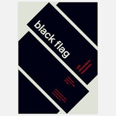 Black Flag, 1981 17x23.75, $35, now featured on Fab.