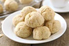 Gluten free cardamom cookies are warm and spicy in all the right ways. Sit down to enjoy one with a cup of tea!