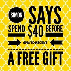 Simon Says game: spend and earn. Facebook Party, For Facebook, Perfectly Posh, Mary Kay, Younique Party Games, Jamberry Party Games, Simon Says Game, Scentsy Games, Lemongrass Spa