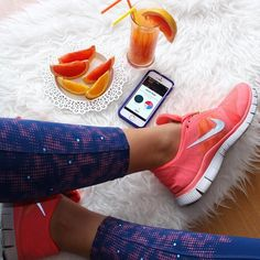 Image via We Heart It https://weheartit.com/entry/167834691 #drink #fitness #food #FRUiTS #girl #girly #healthy #heart #home #iphone #juice #leggings #legs #lemon #morning #neon #nike #orange #running #shoes #smoothie #sport #weheartit #workout #fitspo #fitsporation #fitspiration