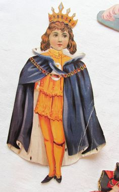 Vintage Victorian Paper Doll Set Royal Regie Raphael Tuck Prince Princess Ser | eBay
