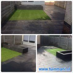 In een tuin hebben we mooie sierbestrating van Excluton mogen aanleggen. Antraciet in de afmeting 40x80cm. Van de muurblokken is een bloembak gemaakt. En om het geheel af te maken kunstgras.      Geplaatst door en de #tuinmaterialen zijn verkrijgbaar bij www.tuimmani.nl #tuinmani #deventer #terras #tuin #achtertuin #voortuin #zomer #genieten #bestrating #muurblok #tuintegels #opsluitband #invegen #gras #excluton #sierbestrating #opsluitband #kunstgras #bloembak Green, Ideas, Home, Ad Home, Homes, Thoughts, Haus, Houses