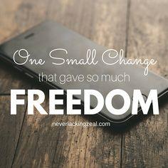 One Small Change tha