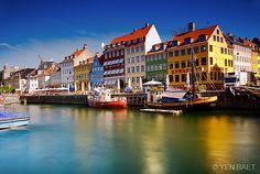 Copenhagen - Nyhaven Harbour
