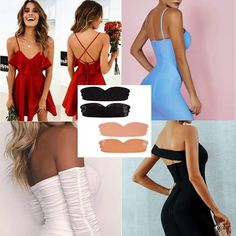 The Perfect Invisible Strapless Bra! 😍 ✅Suitable For All Cup Sizes 😱 ✅Water-proof & Sweat-proof 💦 ✅Durable & Reusable ✨ Hurry, and get yours today! dresses by occasions Invisible Wing Bra Mode Outfits, Fashion Outfits, Womens Fashion, Mode Style, Look Fashion, Diy Clothes, What To Wear, Strapless Dress, Sexy Women