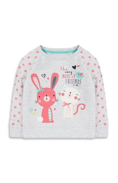 Primark - Baby Girl Bunny Friends Jumper