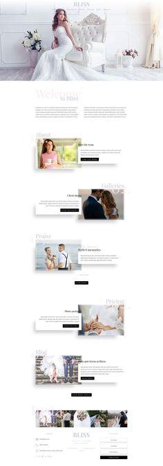 Bliss child theme for Divi  Wedding Photographer WordPress Theme