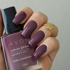 Best Nail Polish Colors For Olive, Tan, Light, Medium Skins Avon Nail Polish, Avon Nails, Best Nail Polish, Nail Polish Colors, Cute Nails, Pretty Nails, Hair And Nails, My Nails, Nagellack Trends