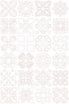 Hawaiian Quilt Block Collection 1 (5x5) | Embroidery Delight | Your source for all embroidery designs, Applique, Quilt Blocks, Animal, Floral, Lacework, etc.