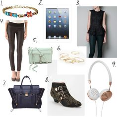 """""""Christmas Wishlist"""" by atodstyle on Polyvore"""