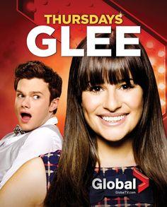 #Glee - Thursdays on Global
