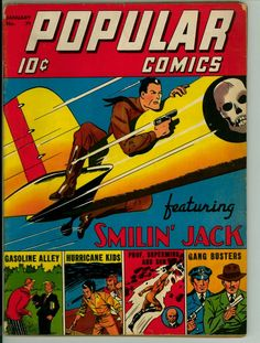 Popular Comics 71 (VG- 3.5)