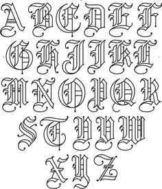 Tattoo Fonts Alphabet Index Hand Lettering Trendy Ideas - T . - Tattoo Fonts Alphabet Index Hand Lettering Trendy Ideas – Tattoo Fonts Alphabet Index Hand Le - Alphabet Graffiti, Alphabet Cursif, Tattoo Fonts Alphabet, Calligraphy Fonts Alphabet, Graffiti Lettering Fonts, Tattoo Lettering Fonts, Hand Lettering Alphabet, Tattoo Script, Chicano Lettering