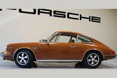Cars Previously Sold - Porsche 911 - 1971 Porsche 911T Coupe - Sepia Brown - California Porsche Restoration