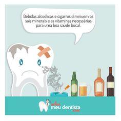 Para ter um sorriso bonito temos que tomar alguns cuidados importantes e abandonar maus hábitos de saúde e manter uma alimentação saudável. Curta nossa página: www.facebook.com/Acheimeudentista