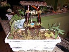 Mini Jardim - Poço