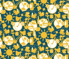 a perfect day fabric by scrummy on Spoonflower - custom fabric