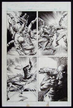 Rampaging Hulk #1 Bloodstone page 8 Comic Art