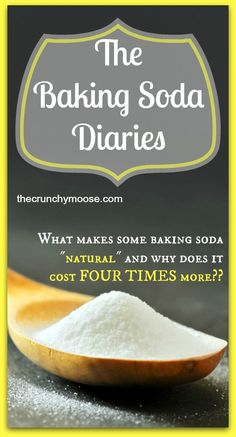 """The baking soda diaries - Is there really a """"better"""" baking soda? Why does some baking soda cost FOUR TIMES as much? thecrunchymoose.com"""