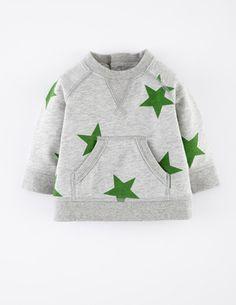 Gemütliches Shirt mit Sternenmotiv