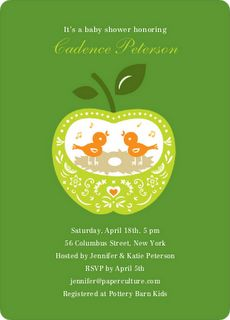My favorite invite card and envelope are on seeded paper to be eco friendly baby shower tips filmwisefo Gallery