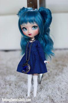 OOAK Blue Velvet Cake Full Custom Pullip by YummySweetsDolls